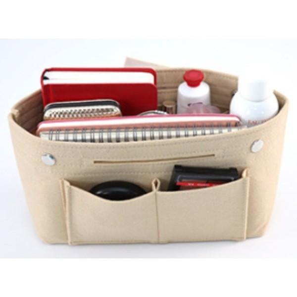 バッグインバッグ フェルト 大きい 大きめ ポケット 収納 大容量 おしゃれ インナーバッグ|ribution|15