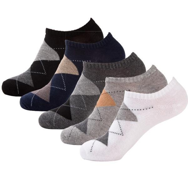 スニーカーソックス くるぶし ソックス ショート アンクル メンズ 靴下 5足 セット 防臭 抗菌|ribution|10