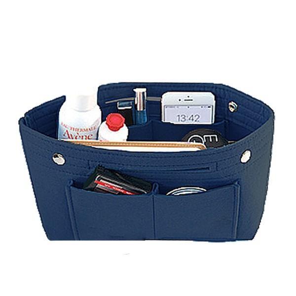 バッグインバッグ フェルト 大きい 大きめ ポケット 収納 大容量 おしゃれ インナーバッグ|ribution|19