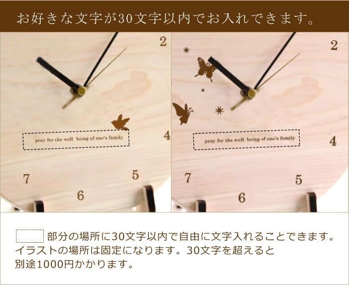 BB時計にどのように文字入れするかの説明画像