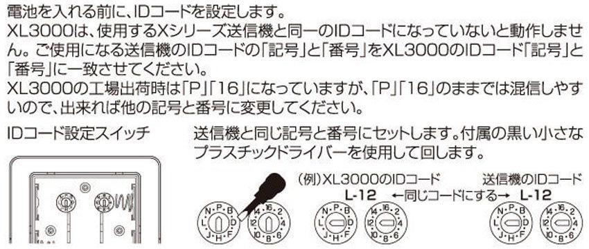 IDコードの設定
