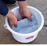 そーかいくん2の水に浸す時間は約2分