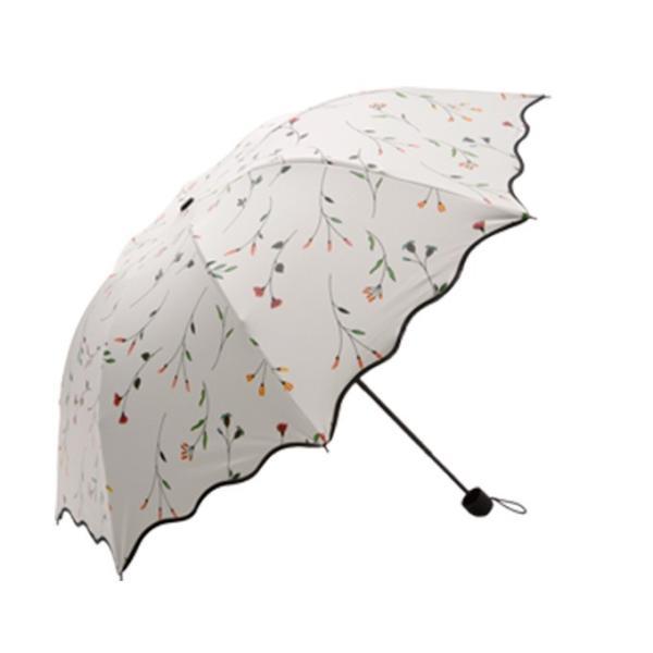 日傘 傘 梅雨対策 雨晴れ兼用 完全遮光 折り畳み おしゃれ  軽量 |rioty|14