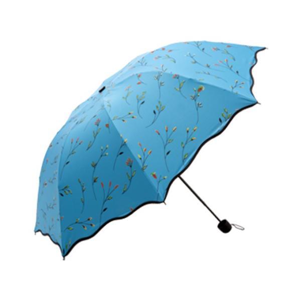 日傘 傘 梅雨対策 雨晴れ兼用 完全遮光 折り畳み おしゃれ  軽量 |rioty|13