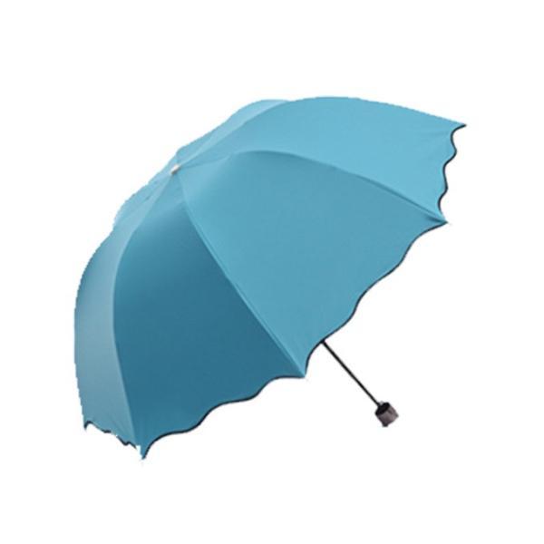 日傘 傘 梅雨対策 雨晴れ兼用 完全遮光 折り畳み おしゃれ  軽量 |rioty|07
