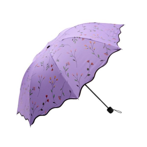 日傘 傘 梅雨対策 雨晴れ兼用 完全遮光 折り畳み おしゃれ  軽量 |rioty|12