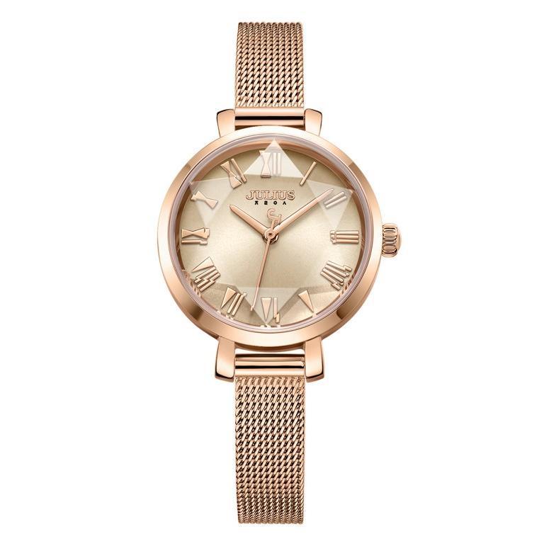 腕時計 レディース 防水 時計 おしゃれ ブランド シンプル 人気 オフィス ピンクゴールド 20代 30代 40代 50代 JULIUS プレゼント 母の日 ギフト|rirty|23