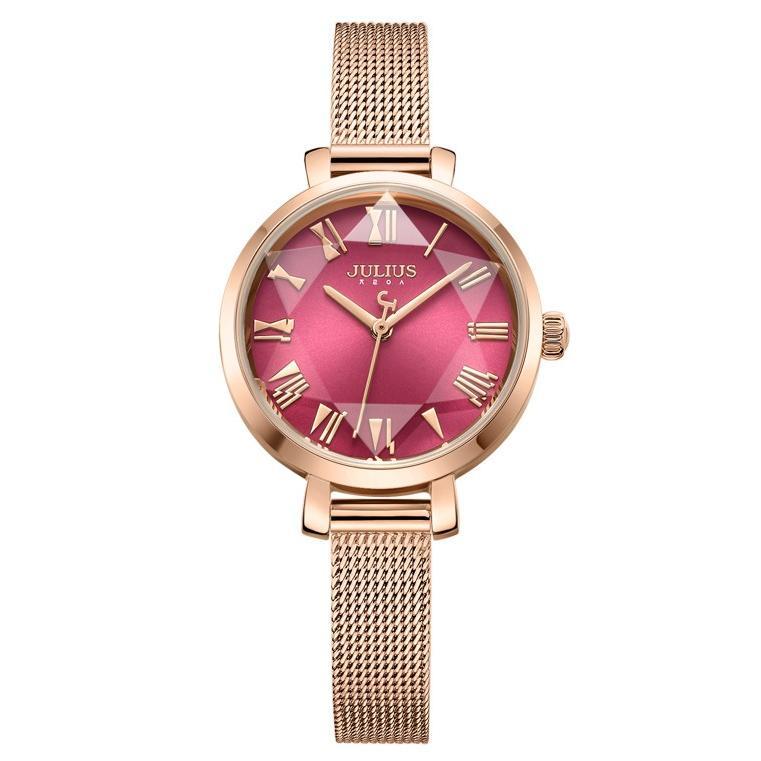 腕時計 レディース 防水 時計 おしゃれ ブランド シンプル 人気 オフィス ピンクゴールド 20代 30代 40代 50代 JULIUS プレゼント 母の日 ギフト|rirty|24
