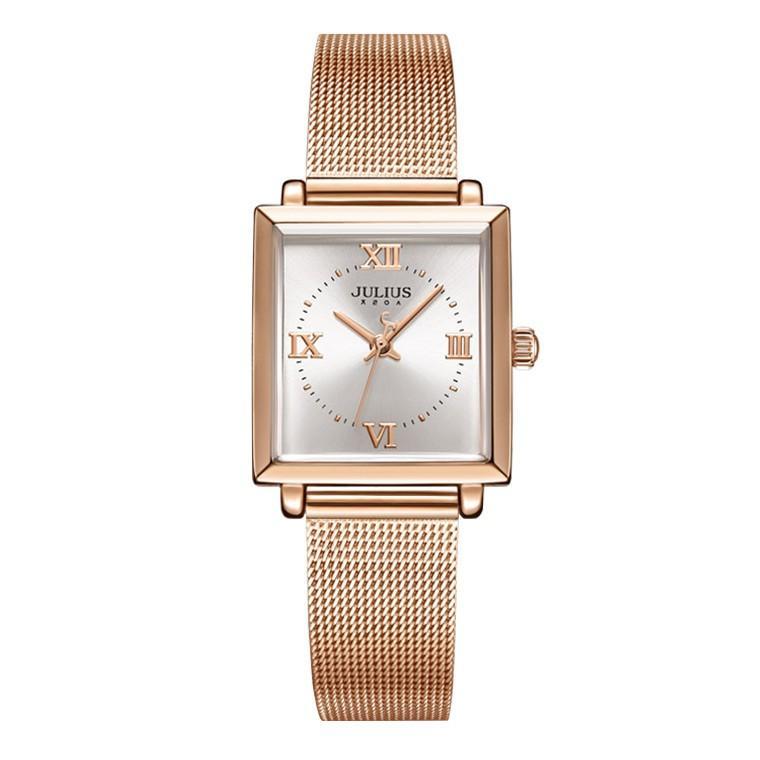 腕時計 レディース ブランド 防水 レディース腕時計 おしゃれ 時計 スクエア 四角 ミラネーゼ 人気 20代 30代 40代 JULIUS プレゼント 母の日 ギフト|rirty|15