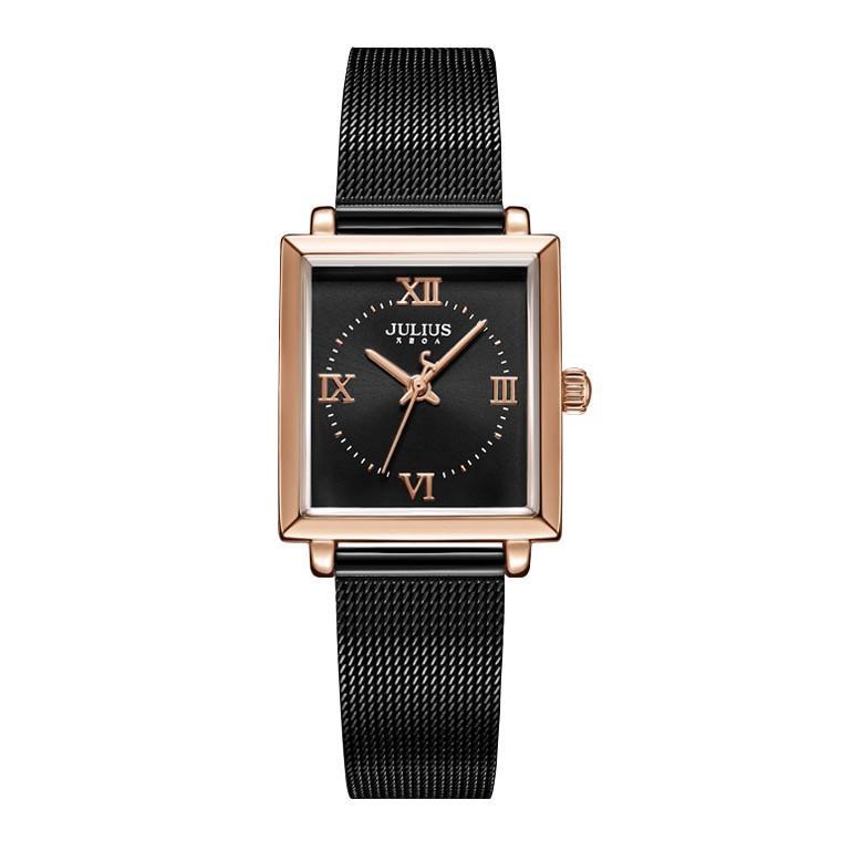 腕時計 レディース ブランド 防水 レディース腕時計 おしゃれ 時計 スクエア 四角 ミラネーゼ 人気 20代 30代 40代 JULIUS プレゼント 母の日 ギフト|rirty|16