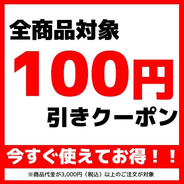商品代金3000円以上で使える100円引きクーポン