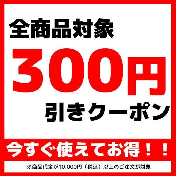商品代金10000円以上で使える300円引きクーポン