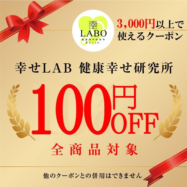 幸せLAB 3,000円以上購入で100円OFFクーポン!!!