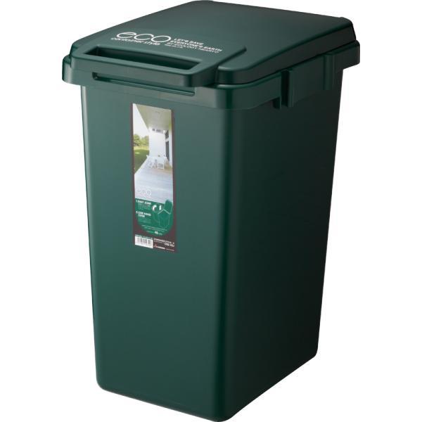 ゴミ箱 おしゃれ キッチン 45L フタ付き 分別 シンプル 定番 角型 ナチュラル ホワイト グリーン ブラウン(キッチン 台所 屋外 連結 ベランダ )|risu-onlineshop|16