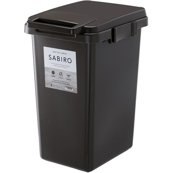 ゴミ箱 おしゃれ キッチン 45L フタ付き 分別 シンプル 定番 角型 ナチュラル ホワイト グリーン ブラウン(キッチン 台所 屋外 連結 ベランダ )|risu-onlineshop|18
