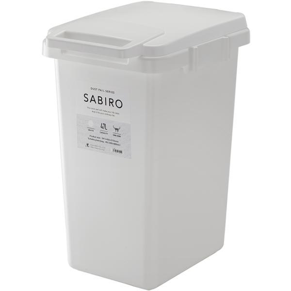 ゴミ箱 おしゃれ キッチン 45L フタ付き 分別 シンプル 定番 角型 ナチュラル ホワイト グリーン ブラウン(キッチン 台所 屋外 連結 ベランダ )|risu-onlineshop|17