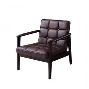 一人掛けソファ おしゃれ 一人掛けソファー 一人掛けチェア 肘付き 椅子 合皮 チェア 肘付きソファ コンパクト 木製 レトロ ヴィンテージ|ritmato|14