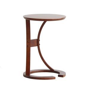 サイドテーブル おしゃれ 木製 カフェ風 丸型 40 リビング 寝室 玄関 ベッド ナイトテーブル ベッドサイドテーブル|ritmato|17