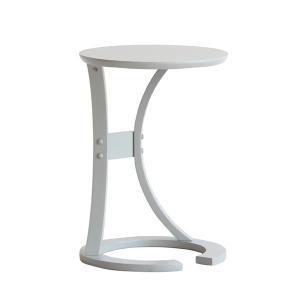 サイドテーブル おしゃれ 木製 カフェ風 丸型 40 リビング 寝室 玄関 ベッド ナイトテーブル ベッドサイドテーブル|ritmato|19
