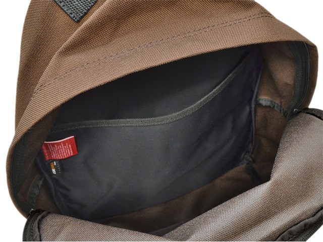【P交換】Manhattan Portage バッグ マンハッタンポーテージ BAG メンズ リュックサック バックパック ダークブラン ナイロン 1210-dbr