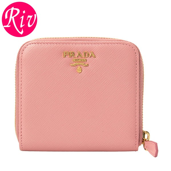 プラダ PRADA 二つ折り財布 1ml522safmet-peta