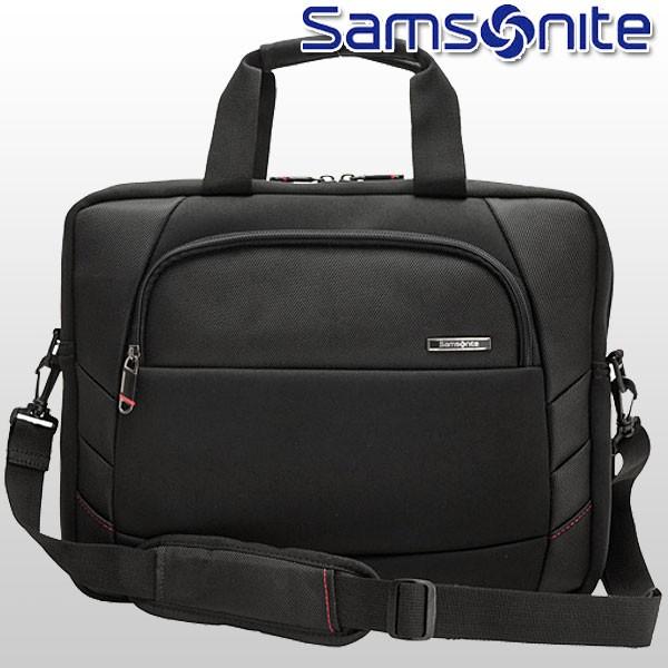 【P交換】サムソナイト バッグ Samsonite BAG XENON 2 Slim Brief ブリーフケース ブラック ナイロン 49204-1041
