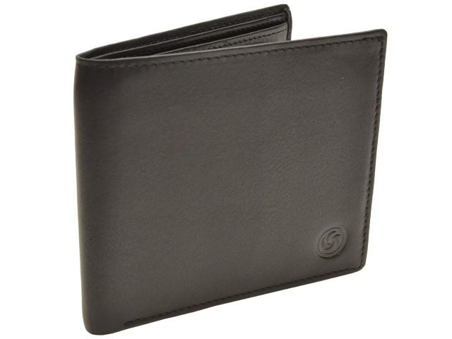 【P交換】サムソナイト 財布 Samsonite 財布  Gift Sets ボールペン付き メンズ 二つ折り財布 ブラック レザー 5-3252