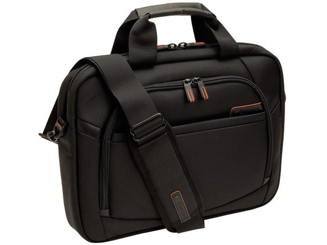 【P交換】サムソナイト バッグ Samsonite BAG SLIM BRIEF-15.6 メンズ ビジネスバッグ ブリーフケース ブラック ナイロン 57918-1041 【YDKG-m】/【Luxury Brand Selection】