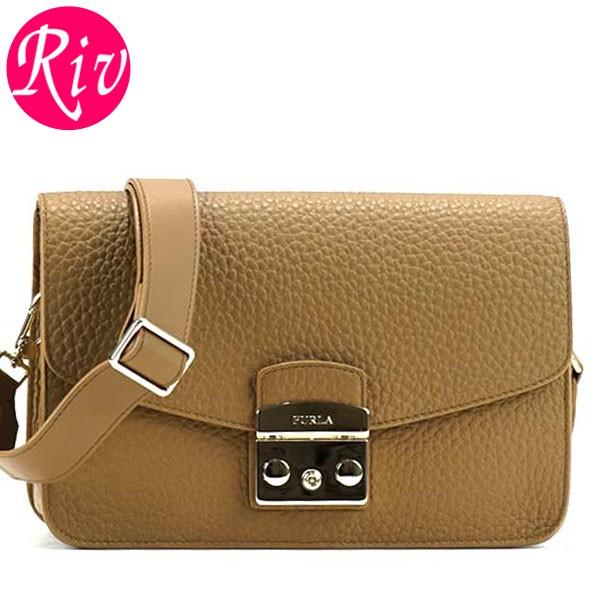 [厳選]フルラ FURLA トート レディース METROPOLIS S SHOULDER BAG キャメル レザー 851519 【Luxury Brand Selection】