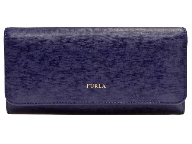 フルラ 財布 FURLA 財布 《フルラ サイフ》 CLASSIC XL BIFOLD 二つ折り長財布 ネイビー レザー 865105 アウトレット 【YDKG-m】/【Luxury Brand Selection】