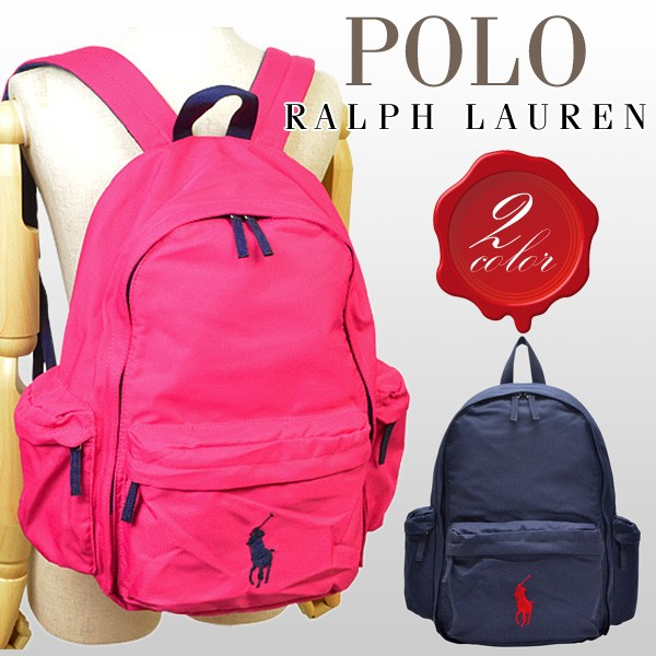 【選べる2色】ポロ ラルフローレン バッグ Polo Ralph Lauren BAG CLASSIC PONY BASIC BACK PACK LG リュックサック ナイロン 9502 【smtb-m】/【YDKG-m】/【Luxury Brand Selection】