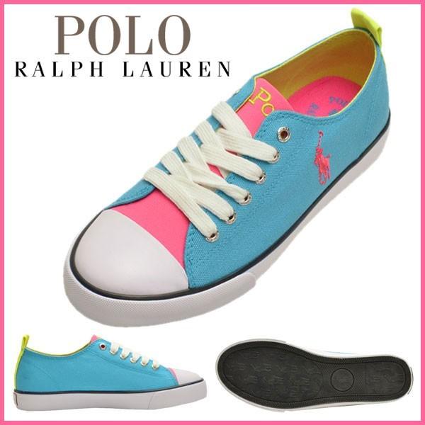 ポロ ラルフローレン Polo Ralph Lauren スニーカー ネオンマルチカラー テキスタイル×ラバー harbour low/ハーバー ロー ガールズ・ジュニア 【Luxury Brand Selection】