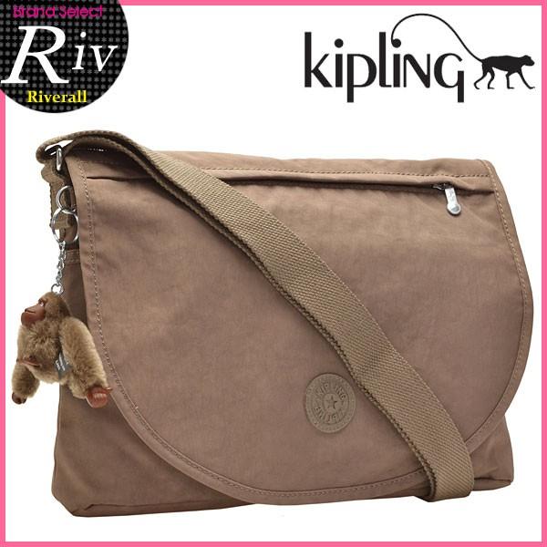 【P交換】キプリング バッグ KIPLING BAG Orleane 斜めがけショルダー バッグ モンキーブラウン ナイロン k16620-757 【YDKG-m】/【Luxury Brand Selection】
