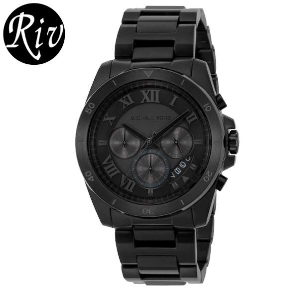 [厳選]マイケルコース MICHAEL KORS 腕時計 メンズ ブラック mk8482