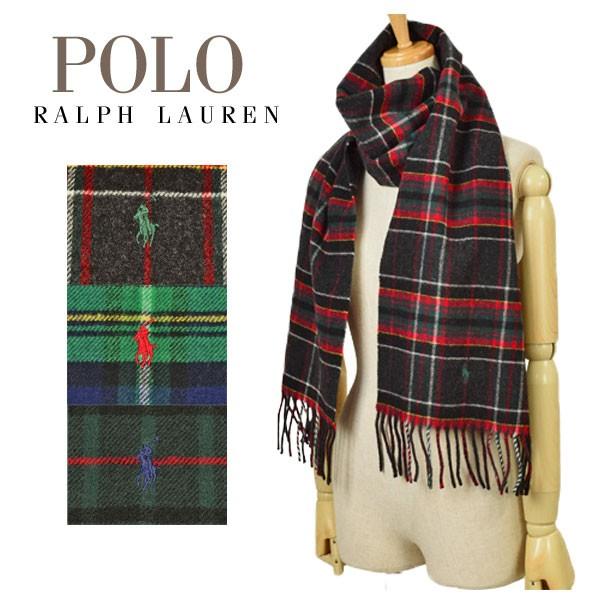 ポロ ラルフローレン Polo Ralph Lauren 【選べる3色】 Core Virgin Wool Tartans メンズ レディース チェック マフラー pc0019