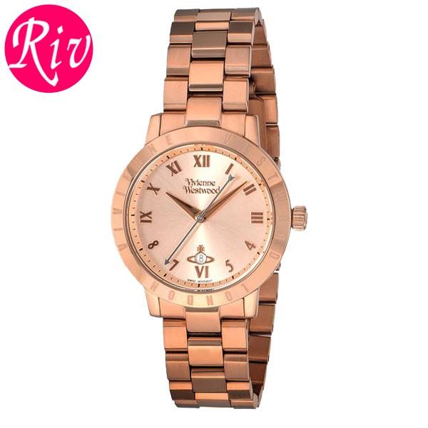 [厳選]ヴィヴィアン・ウエストウッド Vivienne Westwood 腕時計 レディース ローズゴールド vv152rsrs