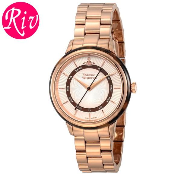 [厳選]ヴィヴィアン・ウエストウッド Vivienne Westwood 腕時計 レディース ゴールド vv158rsrs
