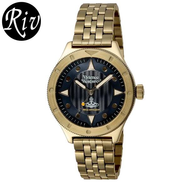 [厳選]ヴィヴィアン・ウエストウッド Vivienne Westwood 腕時計 ユニセックス イエローゴールド vv160nvgd