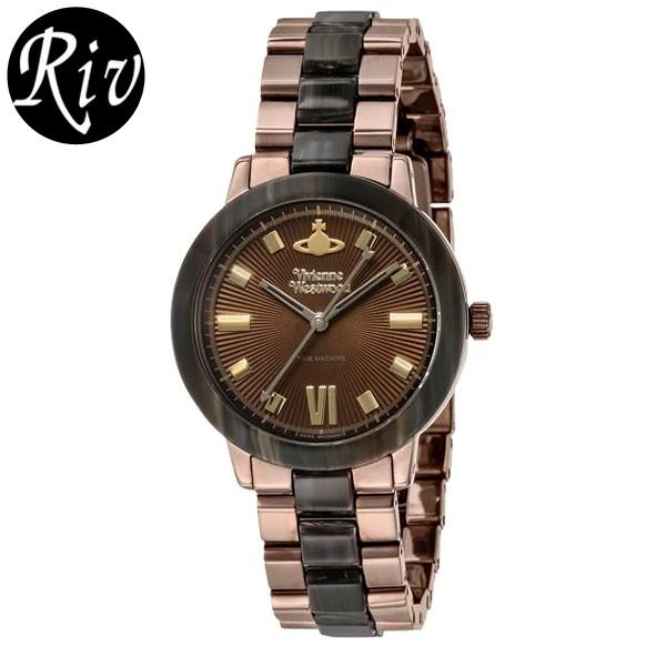 [厳選]ヴィヴィアン・ウエストウッド Vivienne Westwood 腕時計 レディース ゴールド vv165brbr