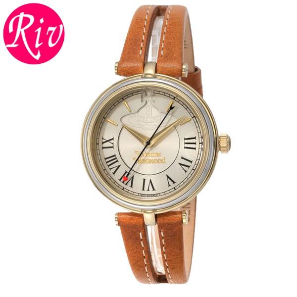 [厳選]ヴィヴィアン・ウエストウッド Vivienne Westwood 腕時計 レディース ライトブラウン vv168gytn