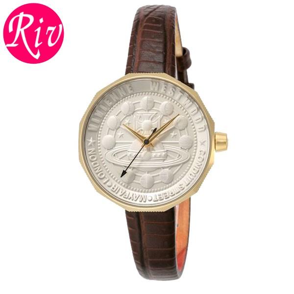 [厳選]ヴィヴィアン・ウエストウッド Vivienne Westwood 腕時計 レディース ブラウン vv171gdbr