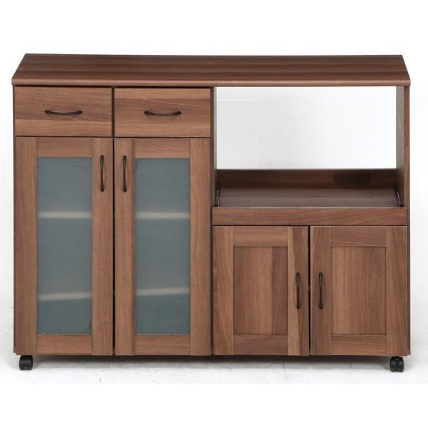 キッチンカウンター カウンターテーブル 食器棚 レンジ台 下収納 間仕切り 120 118 キャスター付き キッチンワゴン おしゃれ 人気|riverp|10