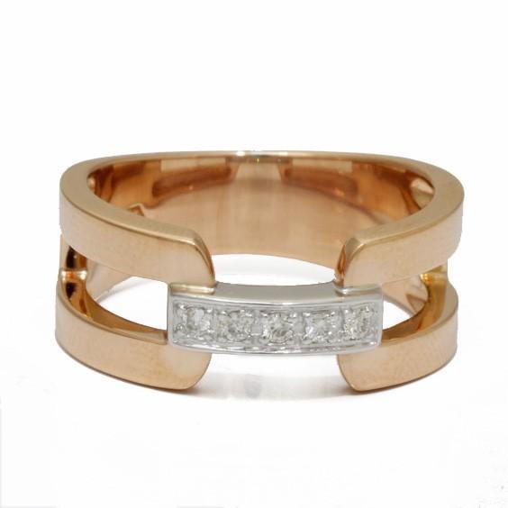 VENDOME AOYAMA リング 指輪 K18PG K18WG ダイヤモンド 2カラー 11号 18金ピンクゴールド 18金ホワイトゴールド 18K ヴァンドーム青山