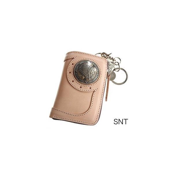 レッドムーン ウォレットREDMOON ハーフウォレット BAREBACK-01A51 L字ファスナー 51mmコンチョ サドルレザー 財布|rmismfukuoka|08