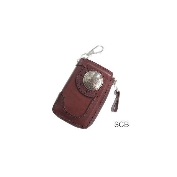 レッドムーン キーケース REDMOON BB-LZKC-L 38mmコンチョ L字ファスナー ベアバッグデザイン【送料無料】|rmismfukuoka|05