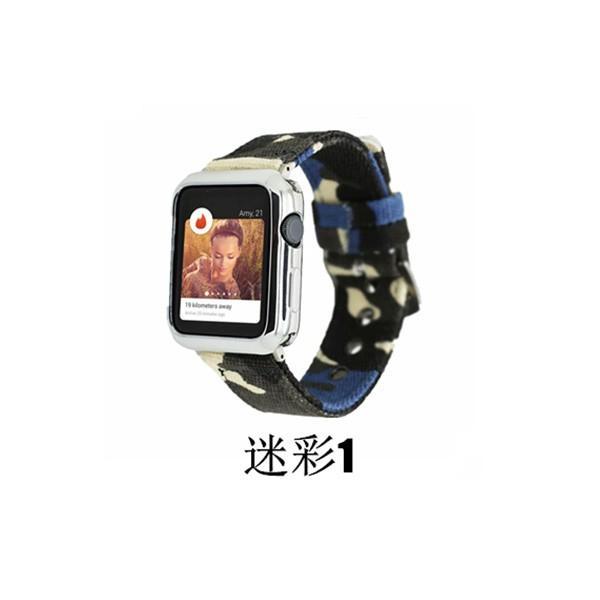 apple watch バンド 迷彩 ズック カラフル 個性的 applewatch ベルト 44mm 40mm 42mm 38mm オシャレ Series4 Series3 Series2 Series1 スポーツ 男女兼用|rms-store|10