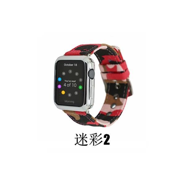 apple watch バンド 迷彩 ズック カラフル 個性的 applewatch ベルト 44mm 40mm 42mm 38mm オシャレ Series4 Series3 Series2 Series1 スポーツ 男女兼用|rms-store|11