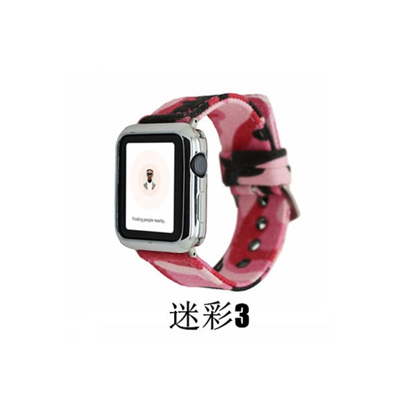 apple watch バンド 迷彩 ズック カラフル 個性的 applewatch ベルト 44mm 40mm 42mm 38mm オシャレ Series4 Series3 Series2 Series1 スポーツ 男女兼用|rms-store|12