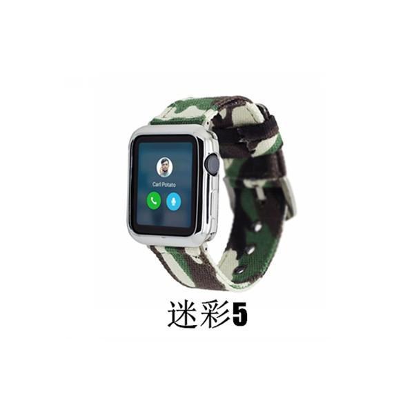 apple watch バンド 迷彩 ズック カラフル 個性的 applewatch ベルト 44mm 40mm 42mm 38mm オシャレ Series4 Series3 Series2 Series1 スポーツ 男女兼用|rms-store|14