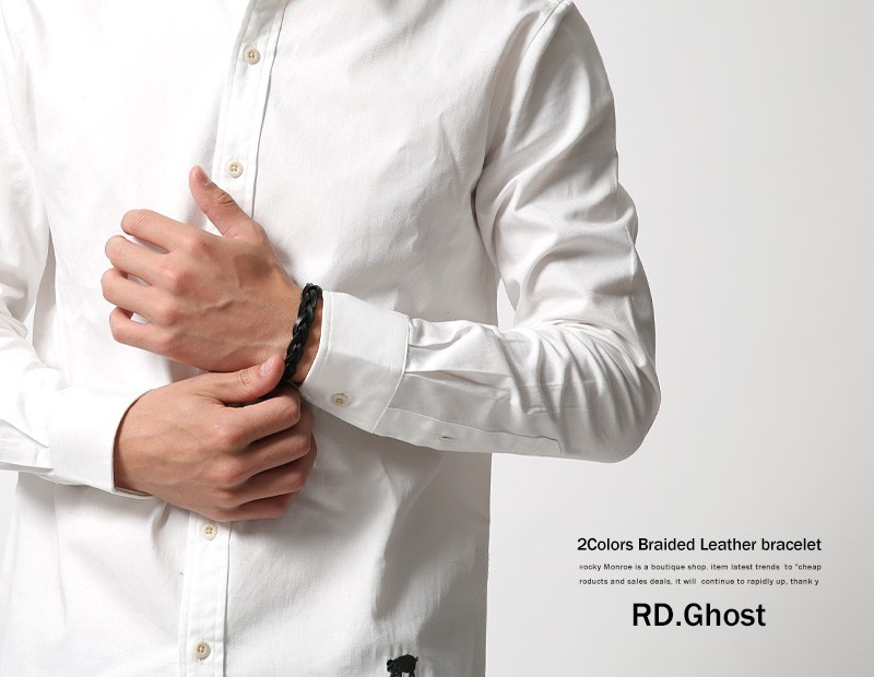 【RD.Ghost】レザーブレスレット